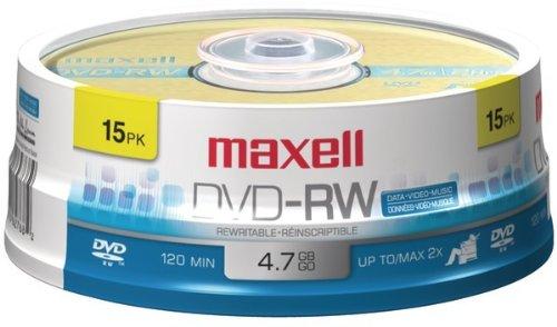 15Pk Dvd-Rw