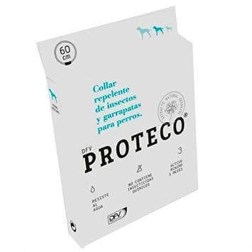 Proteco Collar repelente de insectos y garrapatas para perros