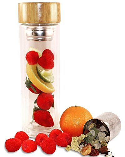 Infuser Tumbler Stainless Strainer Use products product image