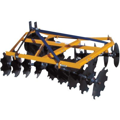 - King Kutter Angle Frame Disc Harrow - 5 1/2-Ft., Notched, Model# 16-16-N
