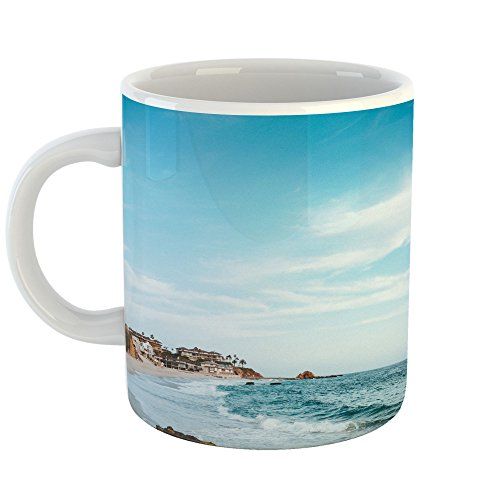 Westlake Art - Southern Californium - 11oz Coffee Cup Mug - Modern Picture Photography Artwork Home Office Birthday Gift - 11 Ounce (8469-B885B) - County Mug