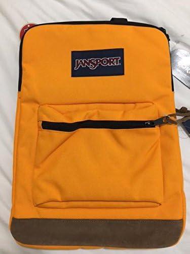 JanSport derecho Pack – Naranja Oro mochila para ordenador ...