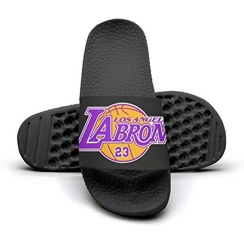 - Women's Los-Angeles-Labron-23- Non-Slip Home Slide Sandals Slippers Soft Foams Slippers
