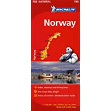 Michelin Norway Map 752 (Maps/Country (Michelin))