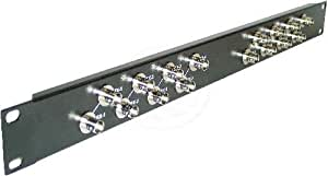 Cablematic - Patch Panel Configurable 16-Port BNC
