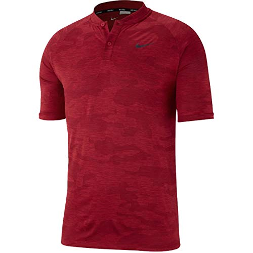 oods Vapor Zonal Cooling Camo Polo 932390 (XXL, Gym Red) ()