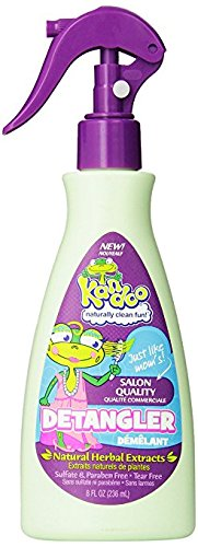 Kandoo Gentle Conditioning Kids Tear Free Hair Detangler Spray, Fresh Scent, 8 Fluid Ounce by Kandoo