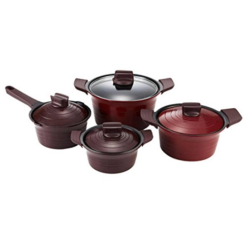 Tefal Titanium Pro Coating Premium 4 Pots SET Ceramic Coating