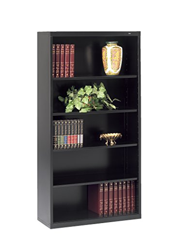 Tennsco Corporation B-66BK Welded Bookcase, 34-1/2