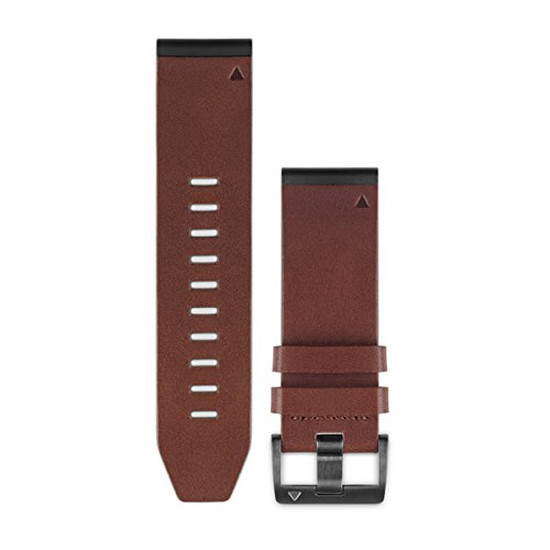 Garmin Quick fit 26 Watch Band - Brown Leather