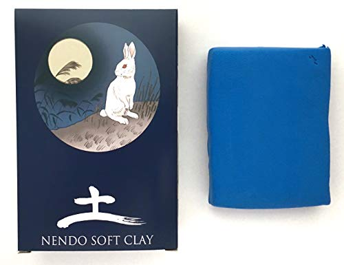 Nendo Soft Clay (Blue) Slime Supplies Premium Soft Clay for Slime Butter Slime [Like Daiso, but Denser for a More Satisfying Slime] Mixing Ingredients and Modeling Air Dry Clay for Kids