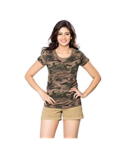 Clifton Womens Cotton T-Shirt (Aaa00015457 _Multi-Coloured _Small)
