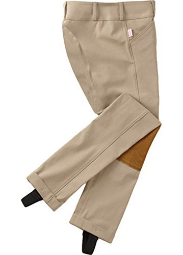 Tailored Sportsman Girls Trophy Hunter Low Rise Jodhpurs Tan