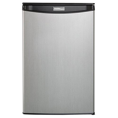 Danby DAR044A5BSLDD Compact Refrigerator, Spotless Steel Door, 4.4 Cubic Feet by Danby (Image #3)