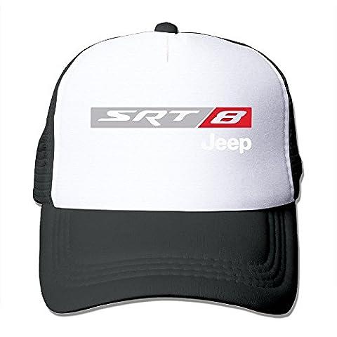 Cool Unisex Black SRT 8 TLC JEEP 4x4 MOPAR Mesh Caps Cap One Size (Flick Hat)