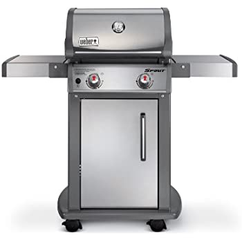 Weber 47100001 Spirit S210 Natural Gas Grill, Stainless Steel