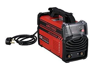 160 Amp Digital Display LCD Stick ARC Welder IGBT DC Inverter 115 & 230V Welding Red by AMICO POWER