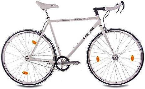 CHRISSON - Bicicleta de 28 Pulgadas, Vintage, sin Pedales, Estilo ...