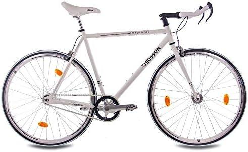 CHRISSON - Bicicleta de 28 pulgadas Vintage Fixie Singlespeed ...