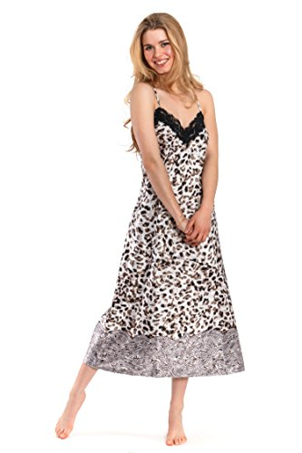 Leopard Print Silk Dress (Jones New York Women's 48