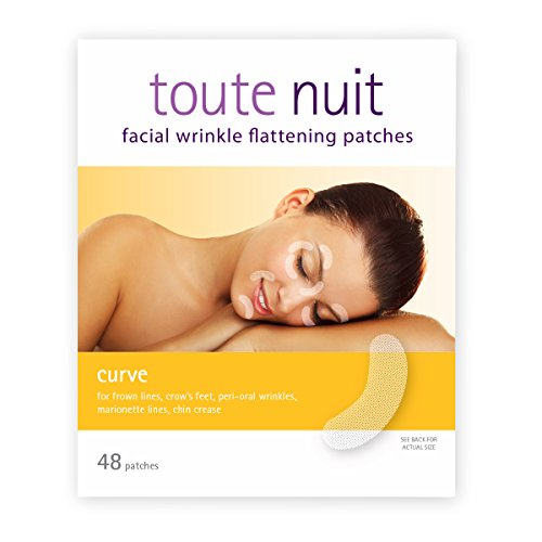 Toute Nuit Facial Wrinkle Flattening Patches - CURVE Reduces Fine Lines Around Eyes & Mouth (Anti-Wrinkle Patches/Face (Best Patch For Wrinkles)