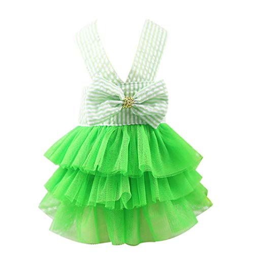 Jim-Hugh Small Wedding Dress Skirt Dog Dress Pet Dogs Clothes Puppy Clothing Spring Cute Chihuahua Pets -
