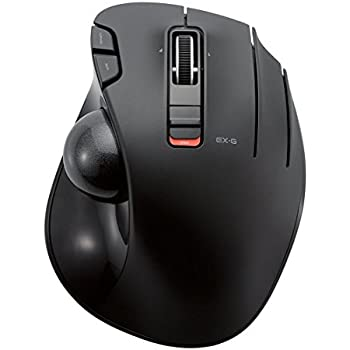 28efb446652 ELECOM M-XT3DRBK Wireless Trackball Mouse, 6-Button with Smooth Tracking  Function, Video Gaming Sensor, Black