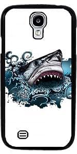 Funda para Samsung Galaxy S4 (GT-I9500/GT-I9505) - Ataque De Tiburón by Adamzworld