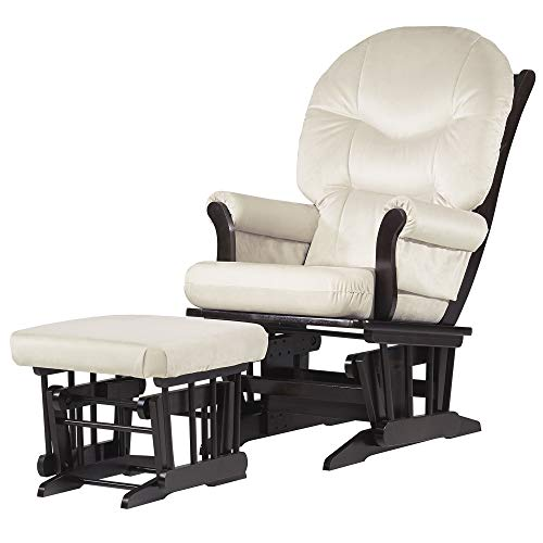 Dutailier Sleigh 0342 Glider Chair with Ottoman Included