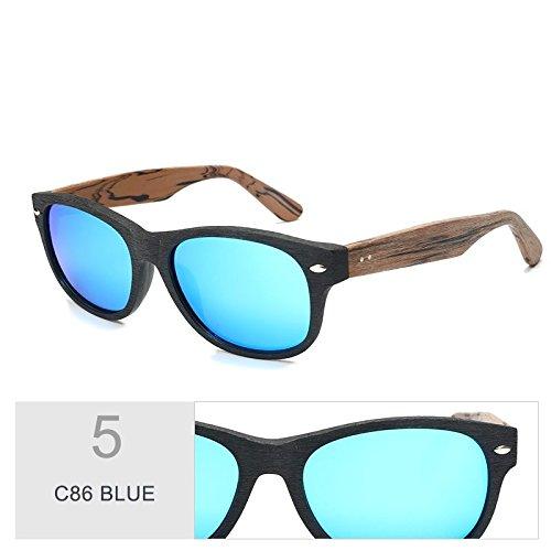 de Sunglasses C99 sol la TL en Violeta C86 BLUE de gafas madera Similar grano acetato sol de al gafas hombre qIXXxdaO