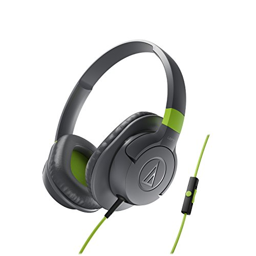 Audio-Technica ATH-AX1iSGY SonicFuel Over-Ear Headphones for