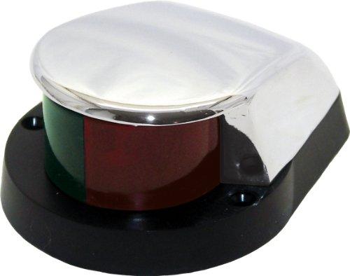 Shoreline Marine Bi-Color Zamac Bow Light (Red/Green)
