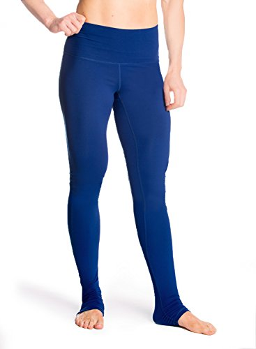 "Yogipace Women's 34"" inseam High Waisted Goddess Extra Long Leggings Yoga Over the Heel Legging - Tall Length"