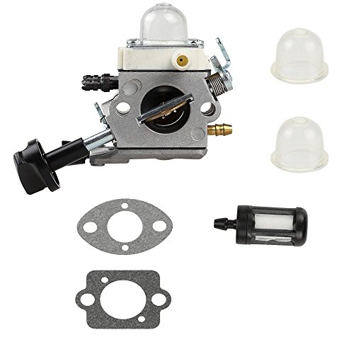 Qauick Carburetor with Gasket Fuel Filter For Stihl Blower SH56 SH56C SH86 SH86C BG86 BG86CE BG86Z BG86CEZ Zama C1M-S261B 42411200616 Leaf Blower Carb by Qauick