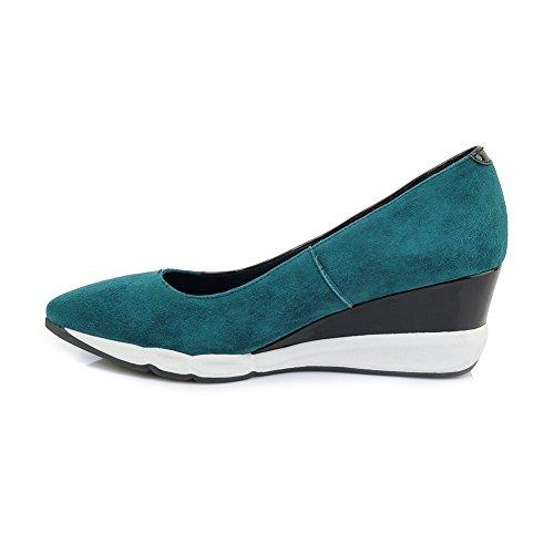 Femme Mat Chaussures 36 Green KJJDE Semelles Q1613 Creepers Baskets À Double Plateformes WSXY Respirant Motif BtqqaSw6