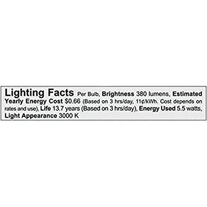 Philips LED 470278 50 Watt Equivalent Classic Glass MR16 Dimmable LED Indoor /& Landscape Flood Light Bulb 4 Pack Bright White 4 Piece
