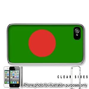 Bangladesh Flag Apple iPhone 5s Case Cover Clear on Sides