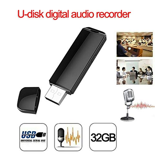 Nifera Digital Voice Recorder Automatically Encrypted U Disk Voice Control Recording Voice Recorder Professional HD Noise Reduction Ultra-Long Standby Time Recording Pen 8GB/16GB/32G