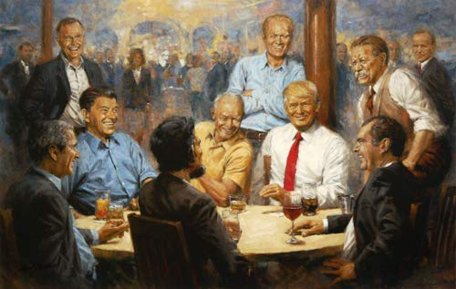 - Andy Thomas - Republican Club Donald Trump Artist Signed Open Edition on Canvas
