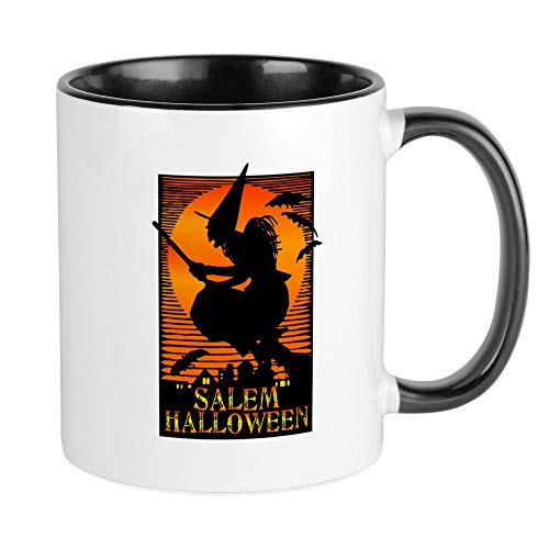 CafePress Halloween Salem Witch Mug Unique Coffee Mug, Coffee -