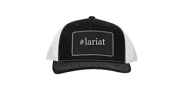 One Legging it Around got wrayanne? Leather Black Patch Engraved Trucker Hat