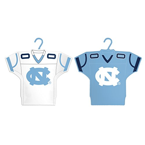 Boelter Brands NCAA North Carolina Tar Heels Home & Away Jersey Ornament, 2-Pack