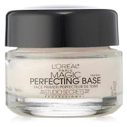 L'Oreal Paris Magic Perfecting Base Face Primer by Studio Secrets Professional 0.50 oz (Pack of 3)