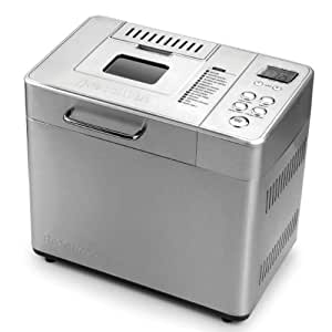 Breadman BK1060S 2-Pound Professional Bread Maker with Collapsible Kneading Paddles and Automatic Fruit and Nut Dispenser