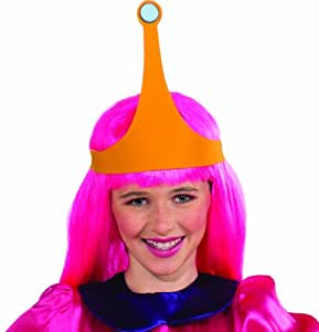 Adventure Time Princess Bubblegum Wig with Crown  sc 1 st  Amazon.com & Amazon.com: Adventure Time Princess Bubblegum Wig with Crown: Toys ...
