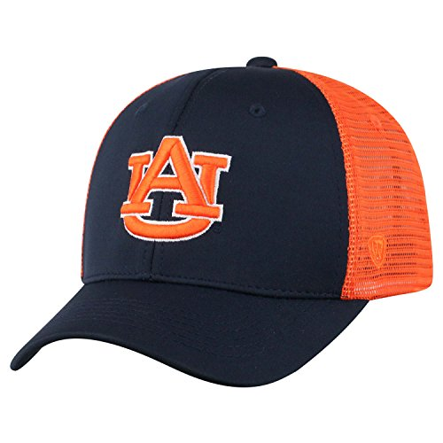 Top of the World NCAA-Ranger Trucker Mesh-Adjustable Snapback Hat Cap (Auburn Tigers, Adjustable)