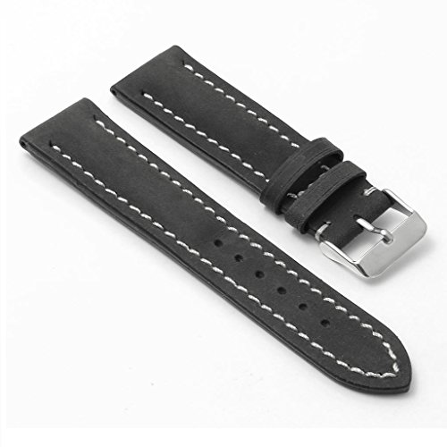 DASSARI Avant Distressed Italian Leather Watch Band for BREITLING