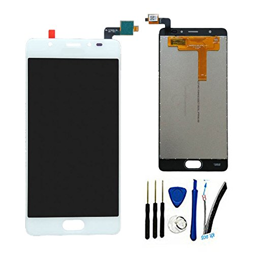100% Tested 5.2 LCD + Touch Replacement For BLU Life One X2 L0090UU L0091UU Complete Display Screen digitizer glass Assembly (White)