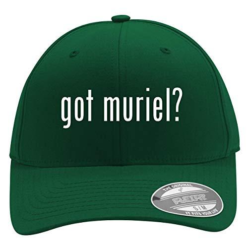 got Muriel? - Men's Flexfit Baseball Cap Hat, Forest, Large/X-Large