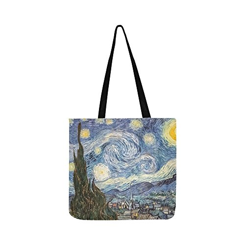 New York Museum Painting Oil Work Art Women Canvas Tote Handbag Shoulder Bag Crossbody Bags Purses For Men And Women Shopping Tote (Soho-shopping New York)